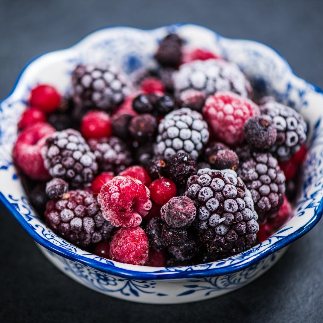 fruits rouge surgelés